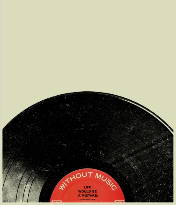 'sem a música, a vida seria um erro'